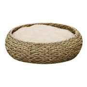 PetPals Seagrass Pet Bed, Circle (PP2124C)