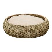 PetPals Seagrass Pet Bed, Circle (PP2124C)