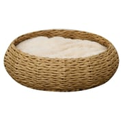 PetPals Paper Rope Pet Bed, Circle (PP2124Z)