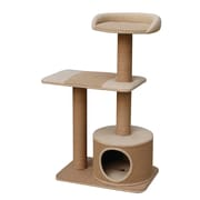 PetPals Recycled Paper Three Level Cat Tree with Top Resting Area (PP9072MB)