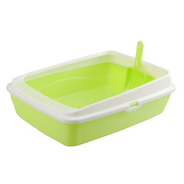 PetPals Litter Tray, Green (SY-C004G)