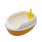 PetPals Oval Litter Tray, Sunshine (SY-C016Y)