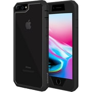 Amzer Full Body Hybrid Case Cover With Built In Screen Protector for iPhone 8 Plus (AMZ203099)
