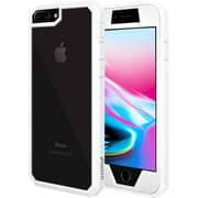 Amzer Full Body Hybrid Case Cover With Built In Screen Protector for iPhone 8 Plus (AMZ203103)