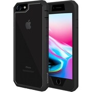 Amzer Full Body Hybrid Case Cover With Built In Screen Protector for iPhone 8 (AMZ203024)