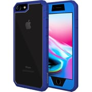 Amzer Full Body Hybrid Case Cover With Built In Screen Protector for iPhone 8 (AMZ203025)