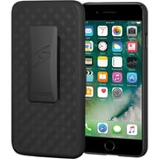 Amzer Carrying Case (Holster) for iPhone 8 Plus, Black (AMZ203092)