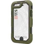 Griffin Survivor Extreme: 5.11 Tactical Edition Carrying Case for iPhone 8 Plus, iPhone 7 Plus, ID Card, OD Green, Black