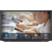 "InFocus® JTouch Plus INF7530EAG 75"" LED Backlight LCD Touchscreen Monitor, Gray"