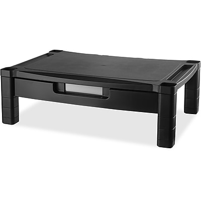 Kantek Extra Wide Adjustable Monitor Laptop Stand with Drawer (MS520)