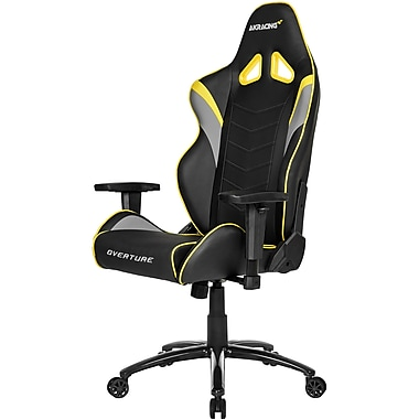 AKRACING Overture Gaming Chair, Yellow (AK-OVERTURE-YL-NA)