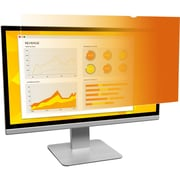 """3M Gold Privacy Filter for 23.8"""" Widescreen Monitor Gold, Glossy, Black (GF238W9B)"""