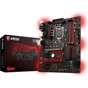 MSI Z370 GAMING PLUS Desktop Motherboard, Intel Chipset, Socket H4 LGA-1151 (Z370 GAMING PLUS)