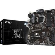 MSI Z370-A PRO Desktop Motherboard, Intel Chipset, Socket H4 LGA-1151 (Z370-A PRO)