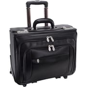 "McKleinUSA 15.4"" Leather Patented Detachable -Wheeled Catalog Briefcase (84665)"