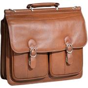 "McKleinUSA 15.4"" Leather Double Compartment Laptop Briefcase (15604)"