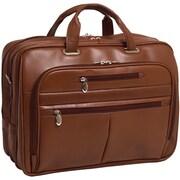 "McKleinUSA 15.6"" Leather Fly-Through™ Checkpoint-Friendly Laptop Briefcase (86514)"