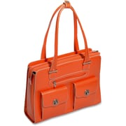 "McKleinUSA 15.4"" Leather Fly-Through™ Checkpoint-Friendly Ladies' Laptop Briefcase (96620)"