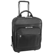 """McKleinUSA 17"""" Leather Patented Detachable -Wheeled Three-Way Laptop Backpack Briefcase (47195)"""