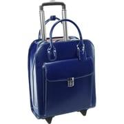 """McKleinUSA 15.4"""" Leather Vertical Wheeled Ladies' Laptop Briefcase (97697)"""