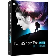 Corel PaintShop Pro 2018 Ultimate, Box Pack, 1 User (PSP2018ULENMBAM)