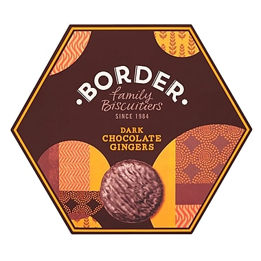 Borders Scotland Scottish Dark Chocolate Gingers