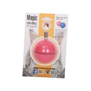 PetPals Interactive LED Cat Ball, Pink (PP17190-RED)