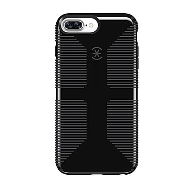 Speck CandyShell Grip For Use With iPhone 6s/7/8 Plus, Black/Grey (79242-B565)