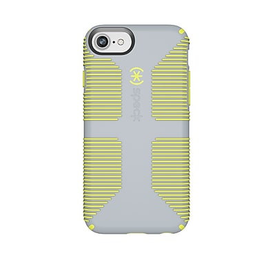 Speck CandyShell Grip For Use With iPhone 6s/7/8, Grey/Yellow (103164-6593)