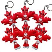 MapleBabes - Porte-clés/Décoration aimantée pour réfrigérateur, rouge
