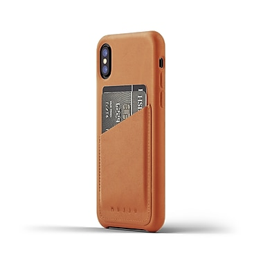 Mujjo Full Leather Wallet Case for iPhone X/XS