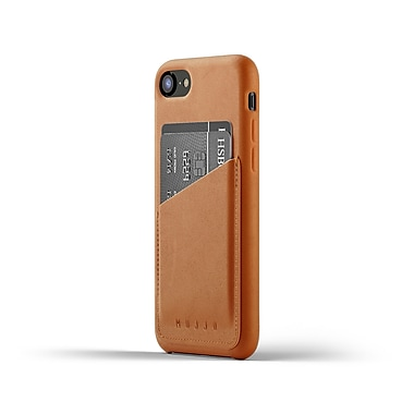 Mujjo Full Leather Wallet Case for iPhone 8/7