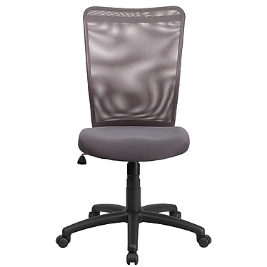 Flash Furniture CY54AGY High Back Gray Mesh Executive Ergonomic Swivel Office Chair