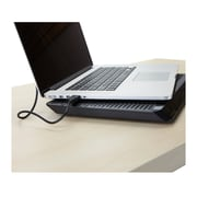 Mind Reader Laptop Cooling Pad, USB powered, Black, (LCOOLPAD-BLK)