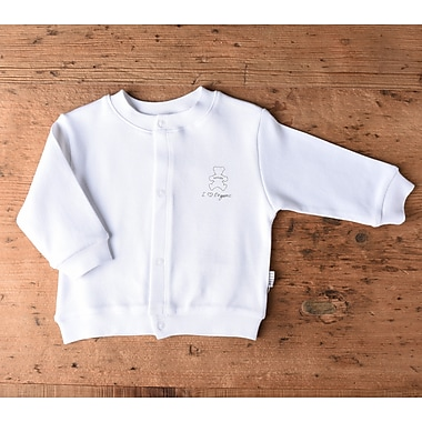 Kitikate Baby Cardigan, White