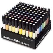 Chartpak® Marker 100-Colour Set, 100/Pack (AD100)