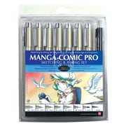 Pigma® Manga-Comic Pro Sketching And Inking 8-Piece Set (50203)