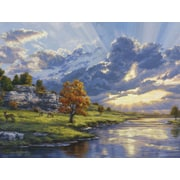 Reeves™ Large Painting By Numbers River'S Edge (PBNACL8)
