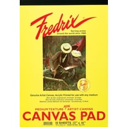 "Fredrix® 18"" X 24"" White Canvas Pad (T3503)"