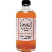 Gamblin Cold Pressed Linseed Oil 8Oz (G07008)