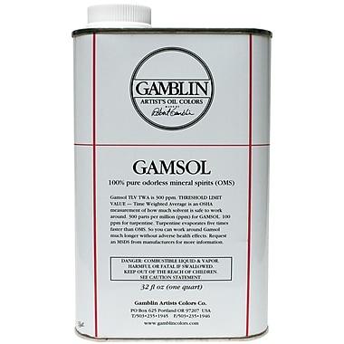 Gamblin Gamsol Oil 32Oz
