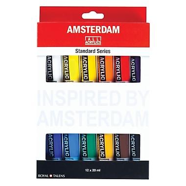 Royal Talens 12-Colour Paint Set 20ml