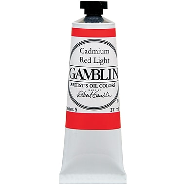 Gamblin Oil Colour 37ml, Red
