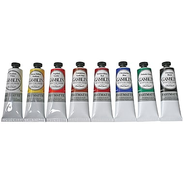 Gamblin Alkyd Oil Colour 37ml, Yellow
