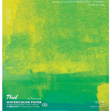 Global Art Materials Hand Book Journal Co.™ Hot Press WaterColour Paper 16
