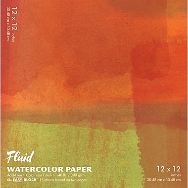 Global Art Materials Hand Book Journal Co.™ Cold Press WaterColour Paper 12