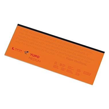 Yupo® 74 Lb. White Synthetic Mixed Media Paper Pad 6