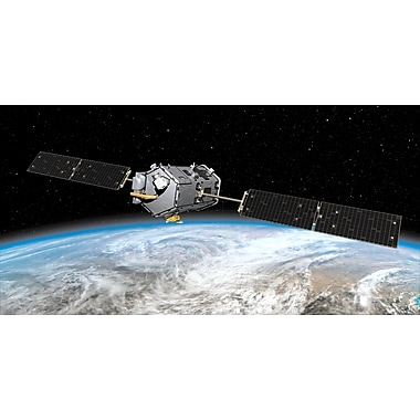 Biggies Space Mural Earth Satellite (SM-ESE-80)
