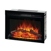 Napoleon Cinema Series Built-In Electric Fireplace with Logs and Remote