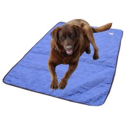 TechNiche – Tapis rafraîchissant pour chien Hyperkewl, bleu